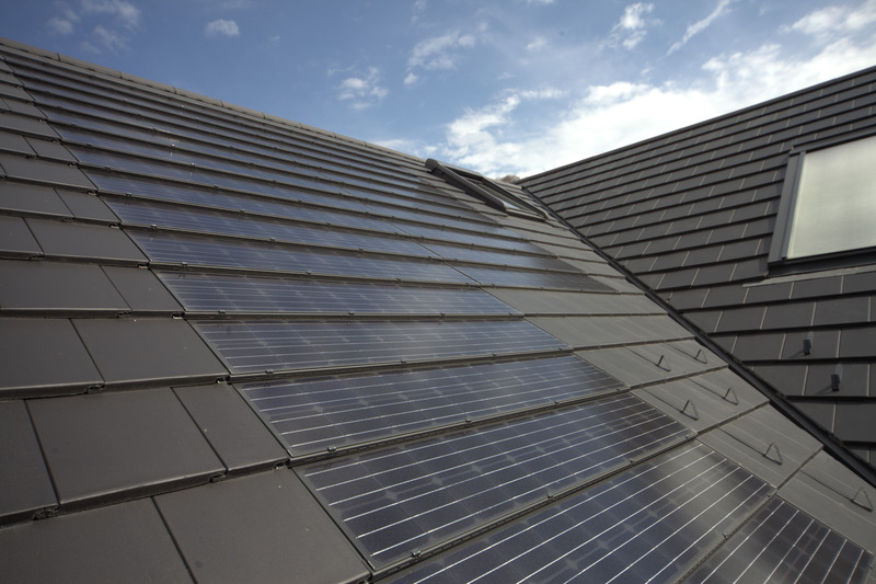 solar panel pitched roof
