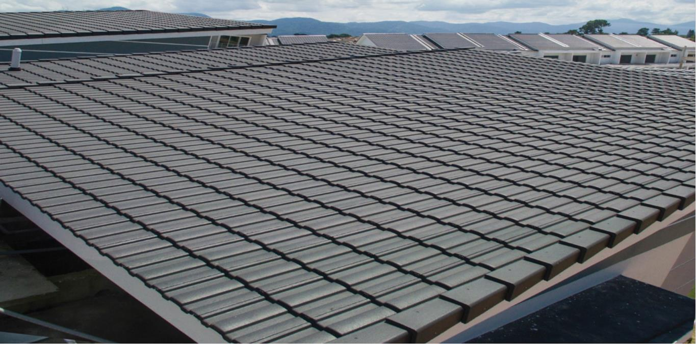 Horizon® 8 Roof System, Malaysia's 1st Low Pitch Tile. Project located at Spring Field Residence, Ipoh