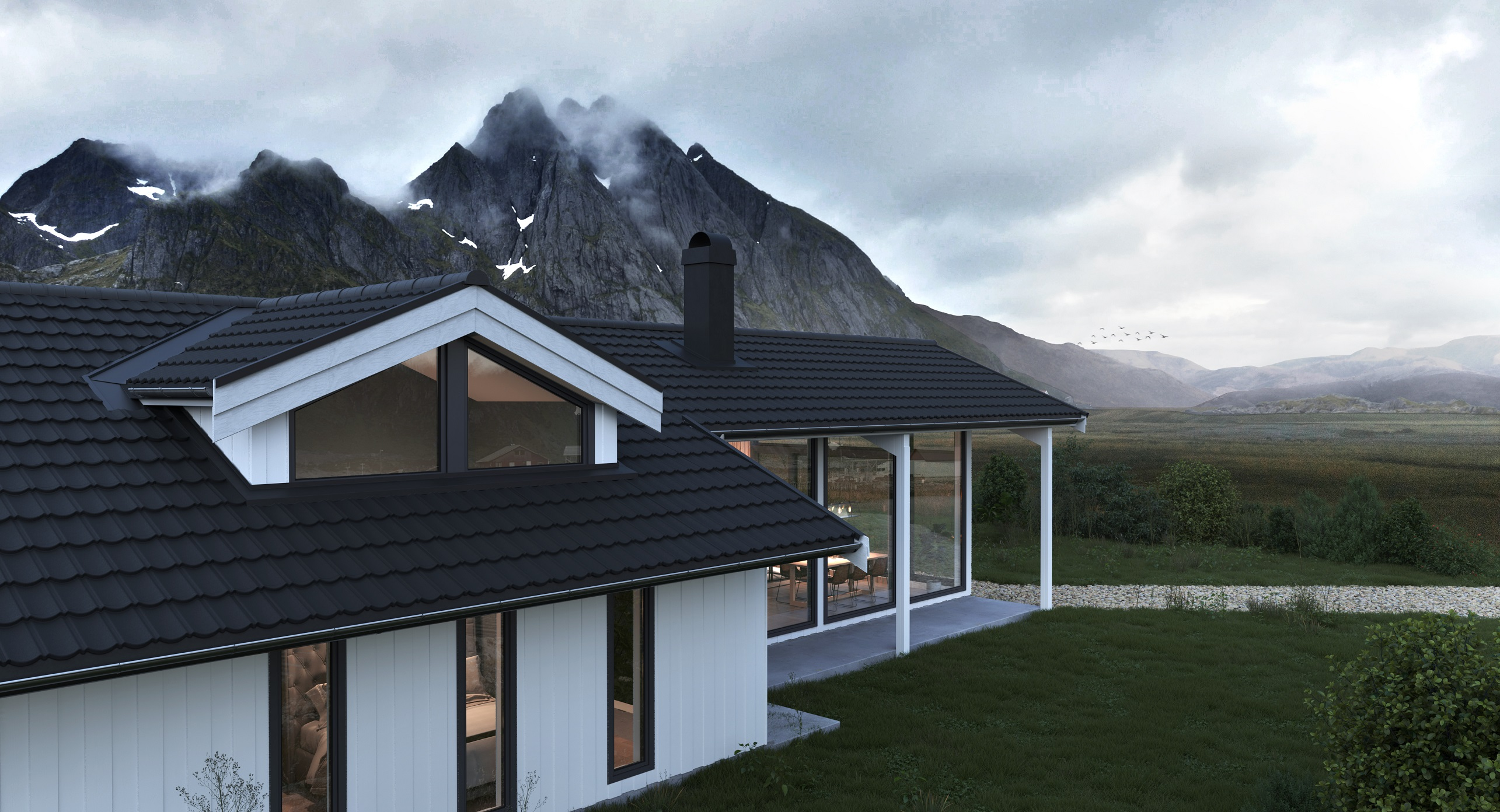 Bmi Aerodek Lightweight Metal Roof Tiles For New Builds And Renovations